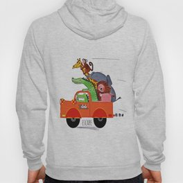 Escape from the Zoo! Hoody