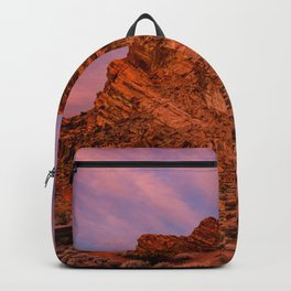 Sunrise Glow - Valley of Fire State Park Backpack