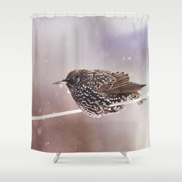 Darling Starling Shower Curtain