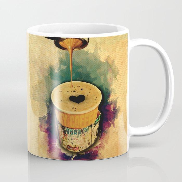 c82f6f5068a Good Morning Coffee on the go Coffee Mug by andrasbalogh | Society6