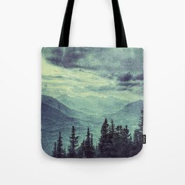 Mountain Highs and Valley Lows Tote Bag