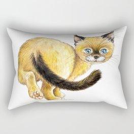 Bye Rectangular Pillow