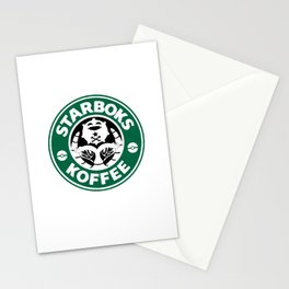 Starboks Koffee Stationery Cards