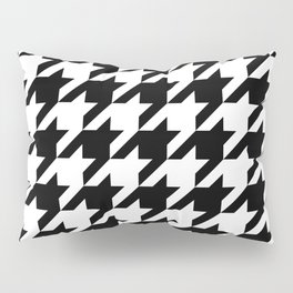 Classic Houndstooth Pattern Pillow Sham