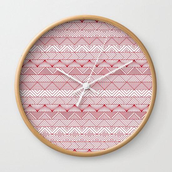 Triangle Trip Wall Clock
