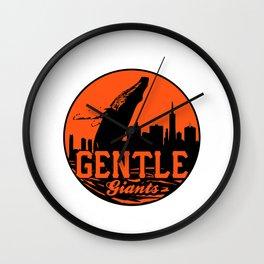 Gentle Giants Wall Clock