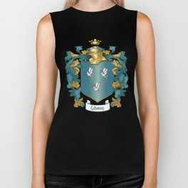 Gibson Coat of Arms and Tartan Biker Tank