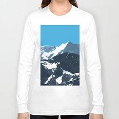 swiss mountains Long Sleeve T-shirt
