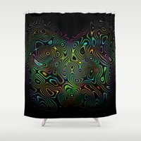 trippy Shower Curtains featuring trippy by myepicass