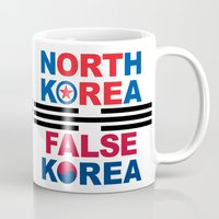 korea Mugs featuring North Korea by pollylitical