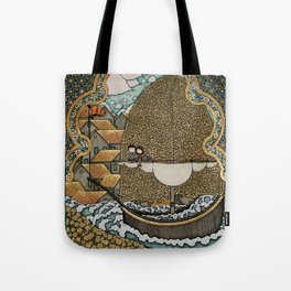 Taking on Water Tote Bag