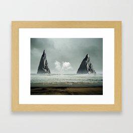 The Gates Framed Art Print