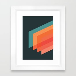 Horizons 02 Framed Art Print