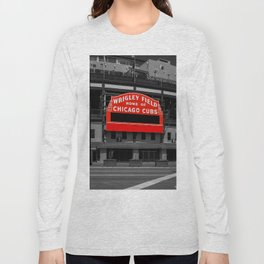 Read Red Long Sleeve T-shirt