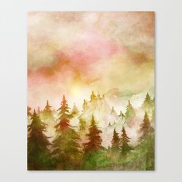 Into The Forest X Canvas Print