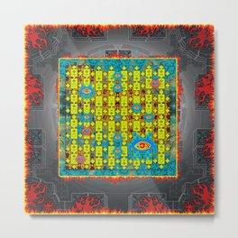Spaceinvader #2 Metal Print