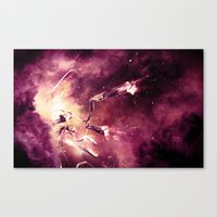 abyss Canvas Prints featuring Abyss by Harold Urquiola