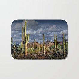 Saguaro Cactuses in Saguaro National Park Bath Mat