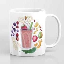 Smoothie Diagram Coffee Mug