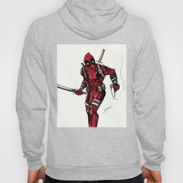 Wade Wilson. Merc with a mouth Hoody