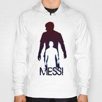 messi Hoodies featuring Leonel Messi by Sport_Designs