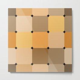 Honey squares Metal Print