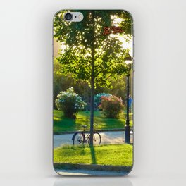 Bicycle at Barcelona iPhone Skin