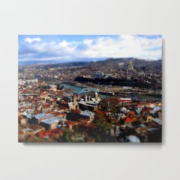 Tbilisi, Georiga Metal Print
