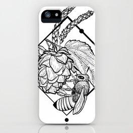 Hops & Wheat & Honey iPhone Case