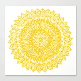 Sinful-Yellow Canvas Print