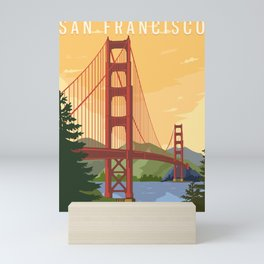 San Francisco Mini Art Print