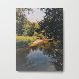 The way it flows Metal Print