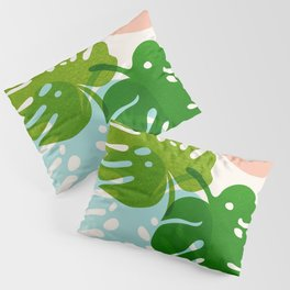 Abstraction_FLORAL_NATURE_Minimalism_001 Pillow Sham