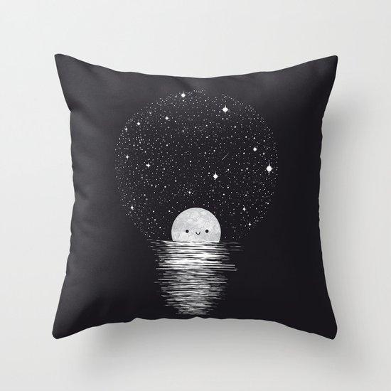 Natural light Throw Pillow