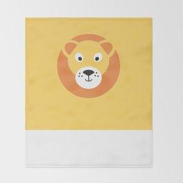 Lion Throw Blanket