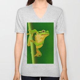 Bullfrog Unisex V-Neck