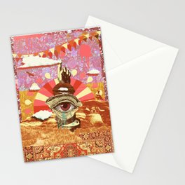 AFTERNOON PSYCHEDELIA REDUX Stationery Cards