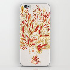 Hatgirl iPhone & iPod Skin