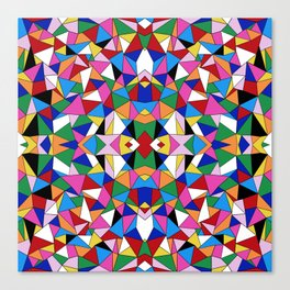 Kaleidoscope III Canvas Print