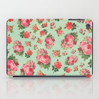 floral pattern iPad Cases featuring FLORAL PATTERN by Allyson Johnson