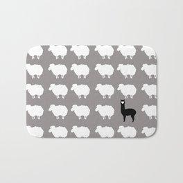 Don't be a sheep, Be a Llama Bath Mat