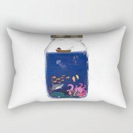 Ocean Jar Rectangular Pillow