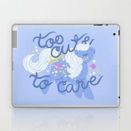 too cute to care Laptop & iPad Skin