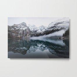Icelandic Lake Metal Print