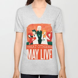 That Other May Live Unisex V-Neck