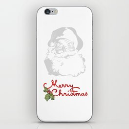 Jolly Santa Merry Christmas iPhone Skin
