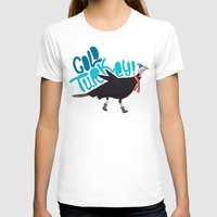 turkey T-shirts featuring Cold Turkey by Chelsea Herrick