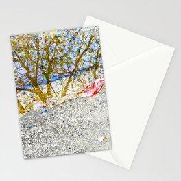 Aqua Metallic Series Forest Stationery Cards