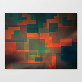 BARKER Canvas Print
