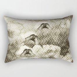 Moody butterflies Rectangular Pillow